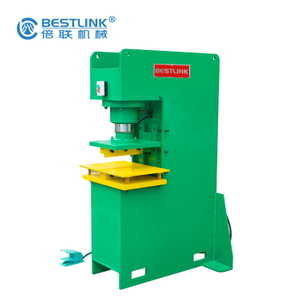 Bestlink Factory Hydraulic Stone Stamper for Recyclying Leftovers
