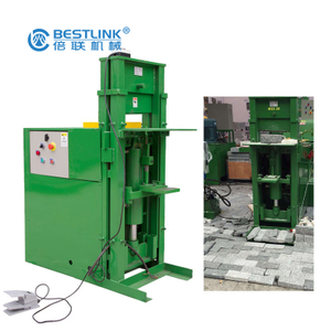 Bestlink Factory Hydraulic Wall Cladding Stone Veneer Splitting Machine for Granite/Marble/Basalt/Limestone