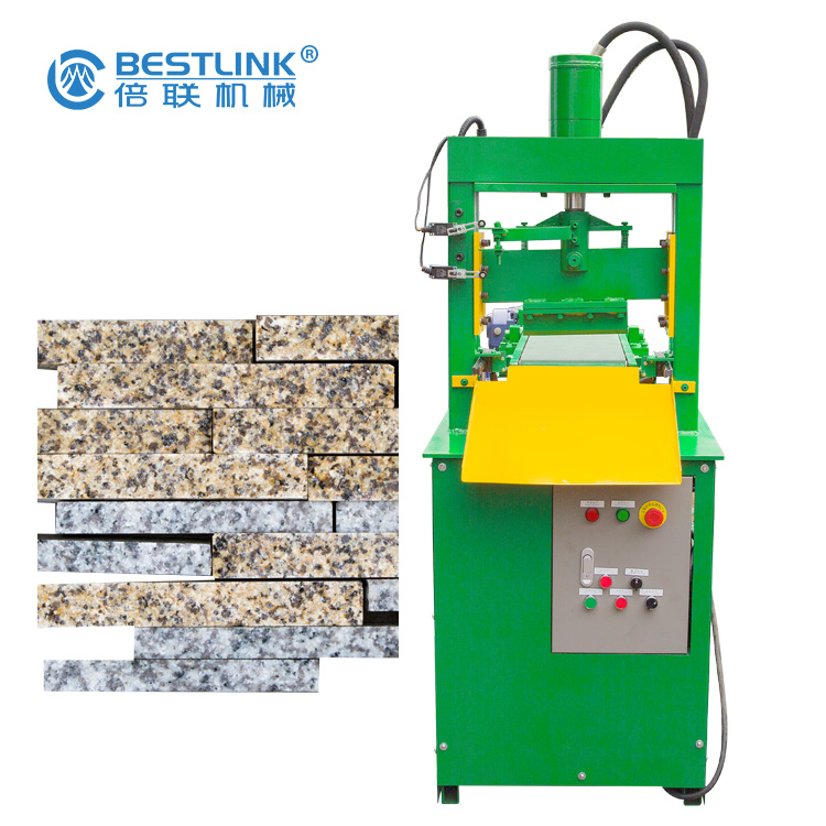 Bestlink Factory Small Mosaic Hydraulic Natural Surface Stone Splitting Machine