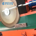 Corner Stone Cutting machine Thin Veneer Saw